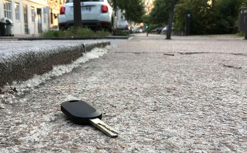 Perte de clé de voiture à Lyon